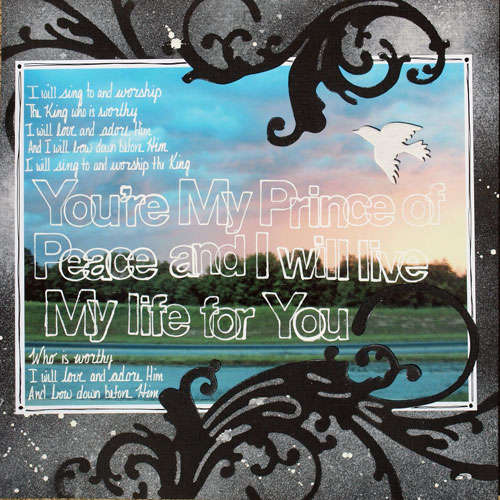 You're My Prince of Peace ~ Birds of a Feather
