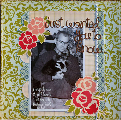 Just Wanted You to Know ~ Birds of a Feather July Kit