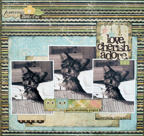 I Love. Cherish. Adore You ~ Birds of a Feather Kit Co.