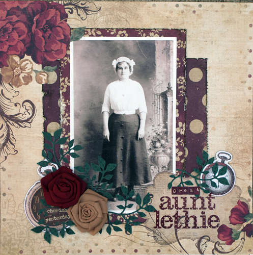 Great Aunt Lethie ~ Birds of a Feather Kit Co.