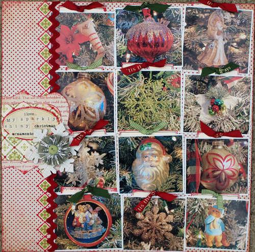 I Love My Sparkly Shiny Christmas Ornaments