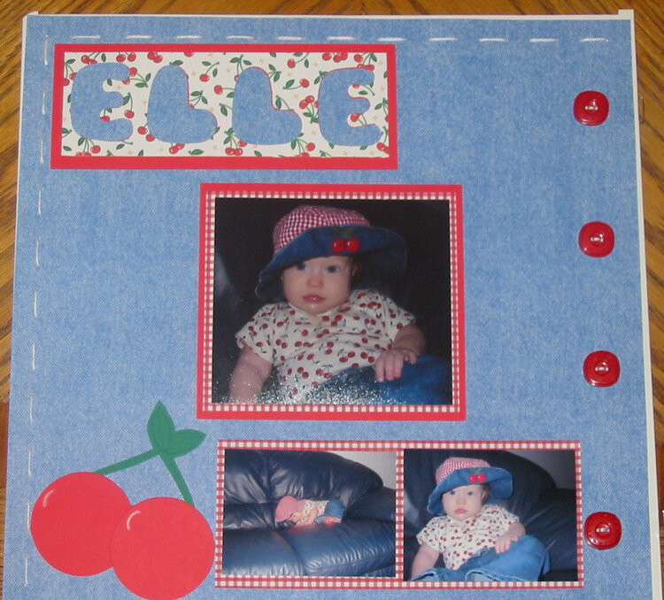 Elle's Cherry Page 1