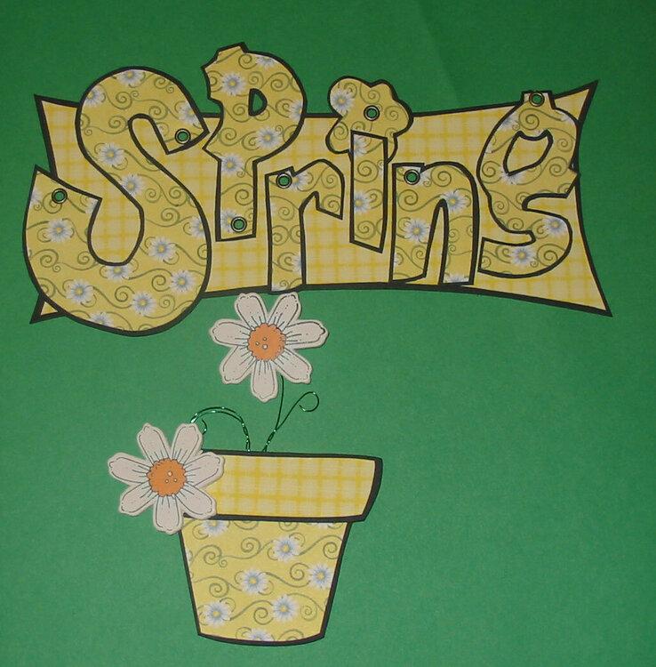 Spring Swap sample