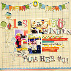 6 wishes for her #6 *EPIPHANY CRAFTS*