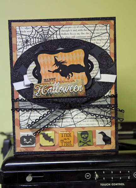 Happy Halloween Card *Epiphany Crafts*
