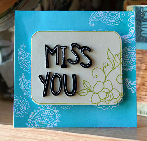 Miss You *AMERICAN CRAFTS*