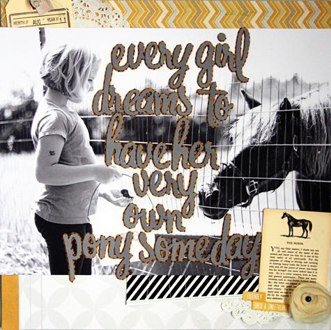 every girl dreams..*Cocoa Daisy Jan. 2013*