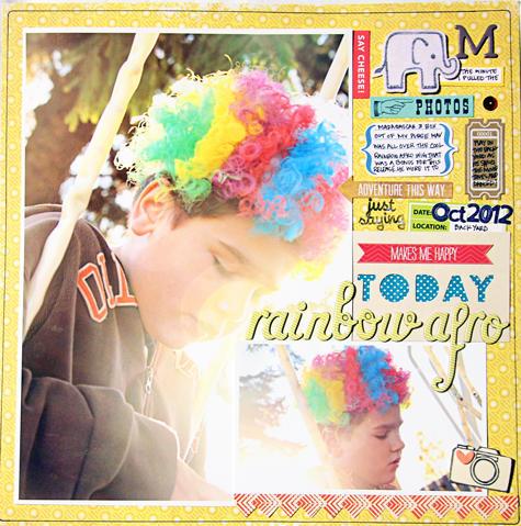 Rainbow Afro*COCOA DAISY NOV.2012*