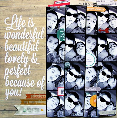 Life is Wonderful?*Chic Tags*