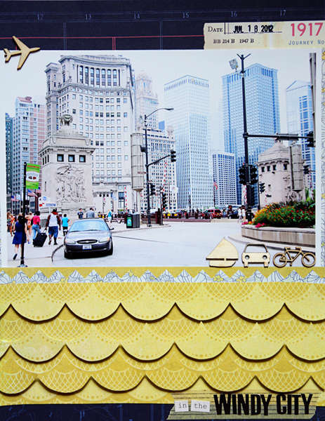 in the Windy City *Aug. Cocoa Daisy Kit*
