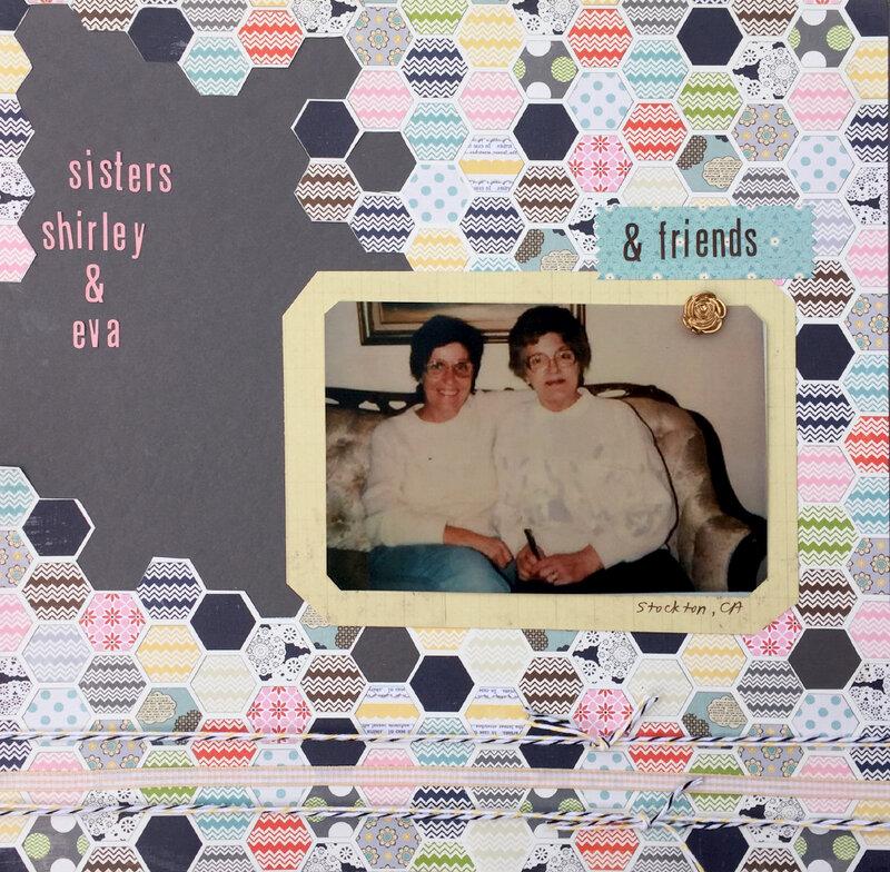 sisters Shirley & Eva