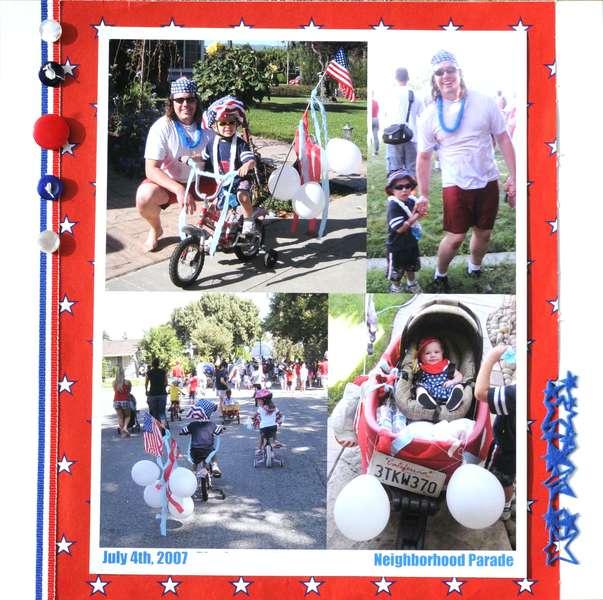 July 4th Neighborhood Parade 2007