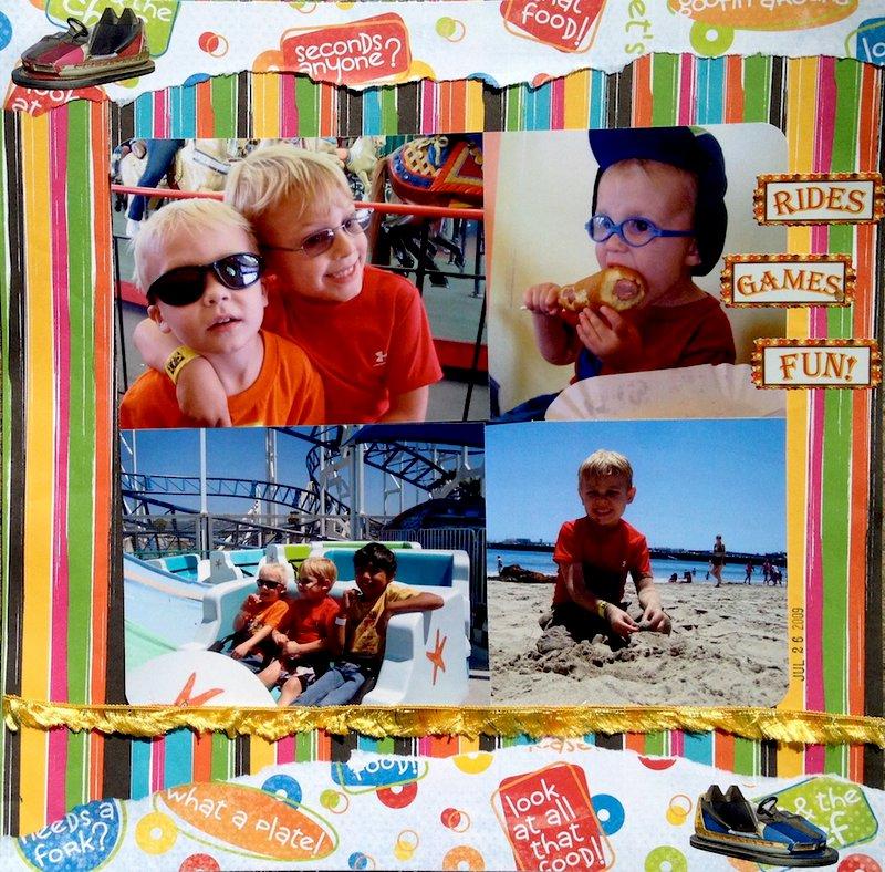 Beach Boardwalk - RIDES- GAMES- FUN