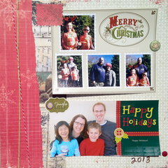 2013 Christmas cards- traditional