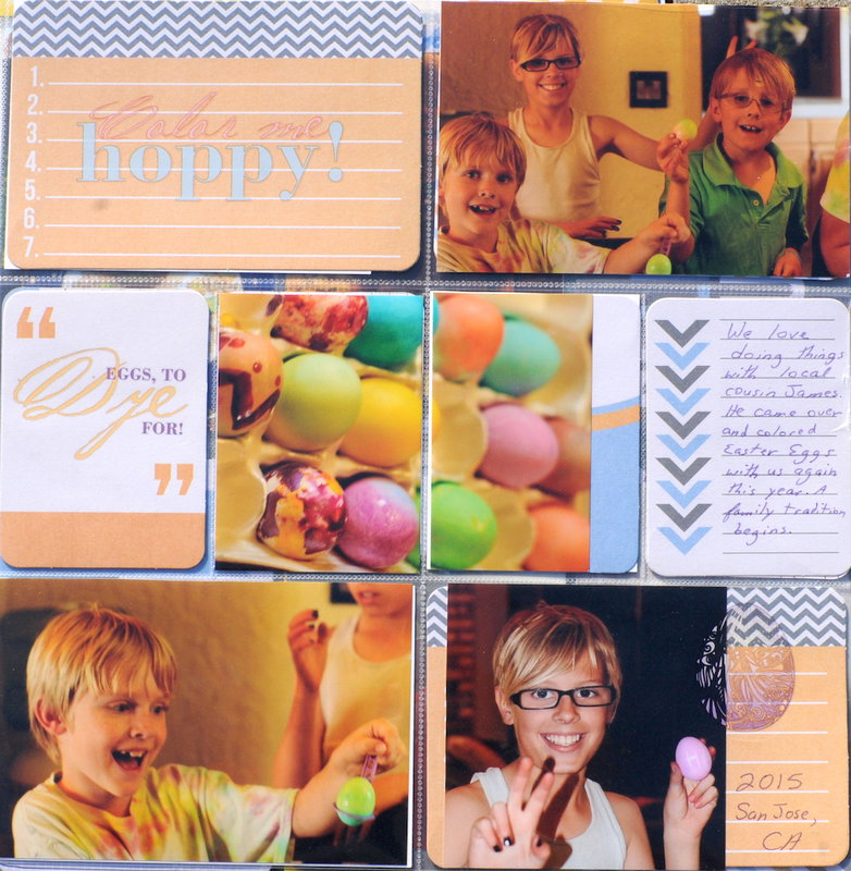 Easter 2015 Pocket Pages