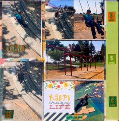 Park Cement Slides