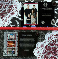 Christmas 08 cards- B&W