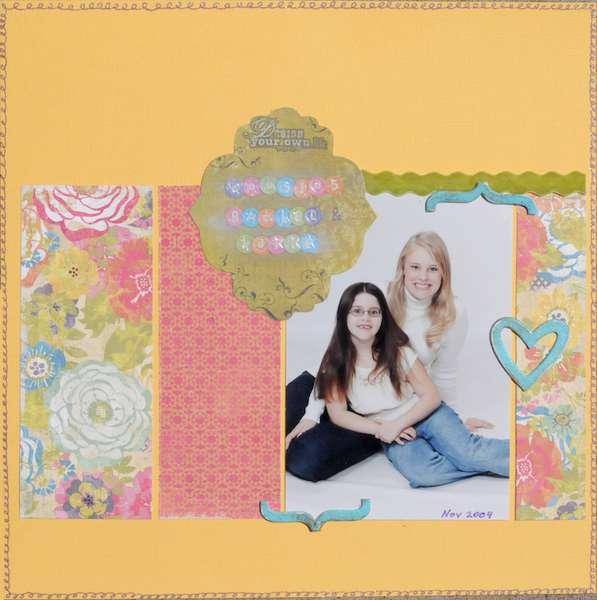 Cousins- Rachel & Katie