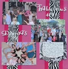 Diana's Fabulous 40th  Page 1