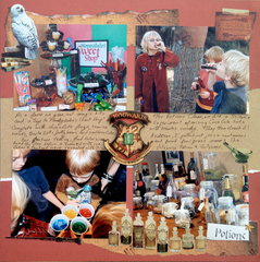 Harry Potter Birthday Party - activities