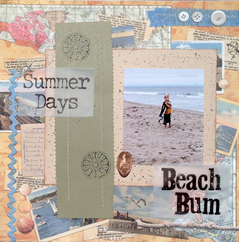 Summer Days- Beach Bum