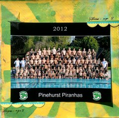 Swim Team Group