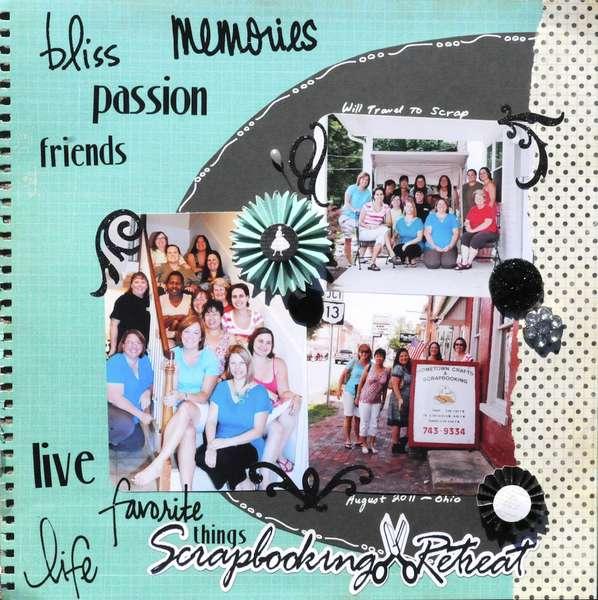 Scrapbook Retreat WTTS 2011