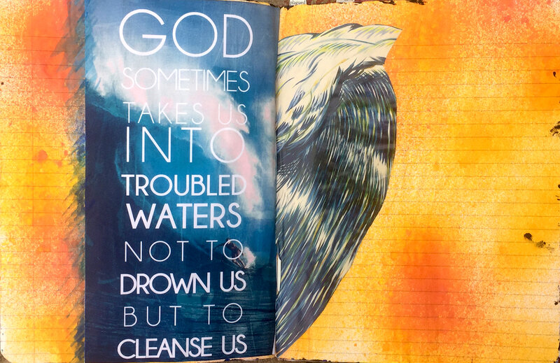 Troubled Waters - Faith Journal