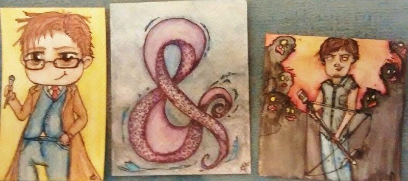 Watercolor Trio