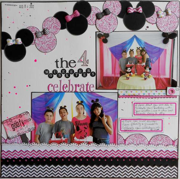 The 4 Mouseketeers Celebrate