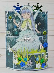 Winter Fairy Card
