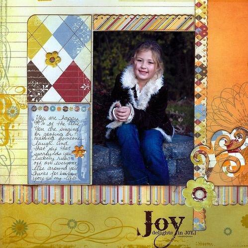 """Joy ~ Fancy Pants Designs """"All Fall"""""""