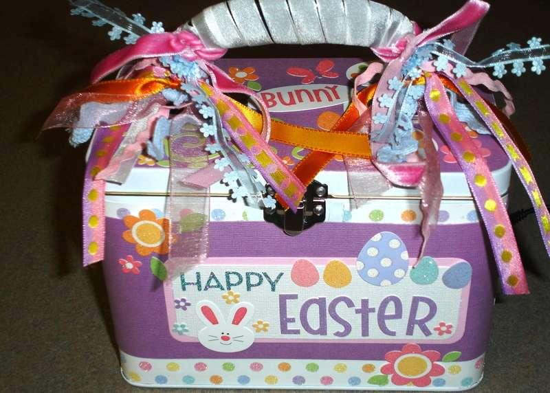 Altered Easter Box