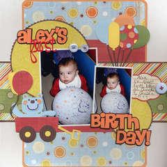 Alex's First Birthday!
