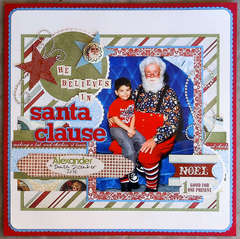 He Believes in Santa Clause