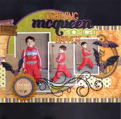 Lightning Mcqueen Race Car Driver!