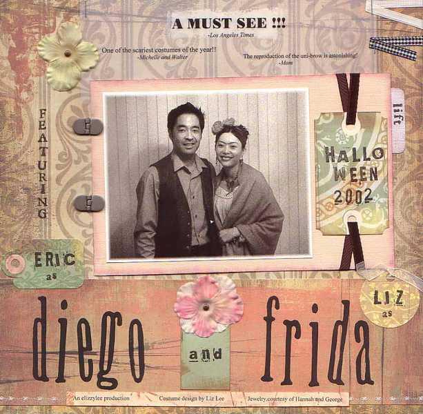 Diego and Frida - Halloween