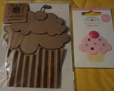babigirl's 2nd 1/2 of my July cupcake envy .. im amazed