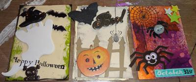 Halloween ATC Swap Oct '12
