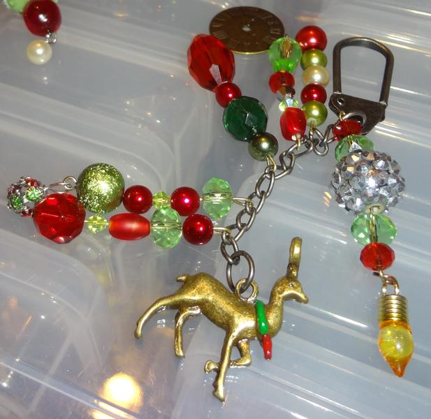 Holiday charm dangle ive made