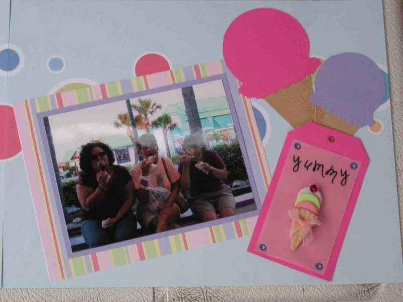 Ice Cream Layout Page Two