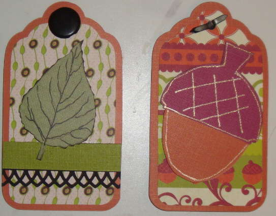 Double sided tags