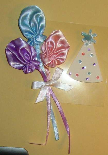 Birthday Page Candy