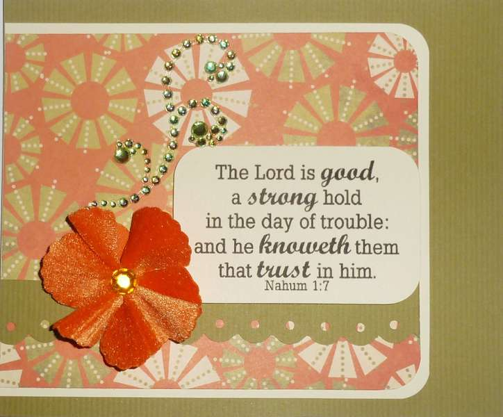 The Lord is good....