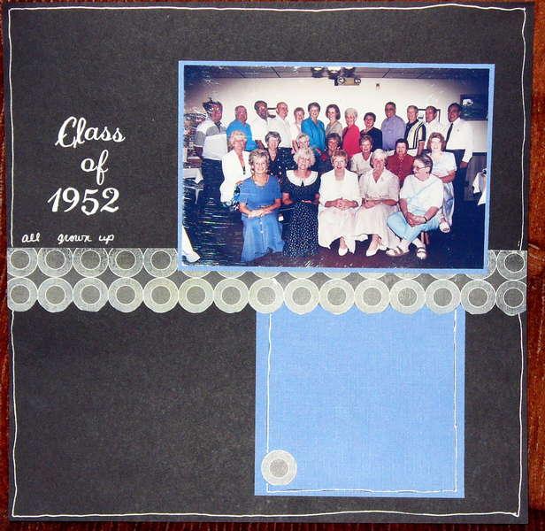 Class of 1952 all grown up