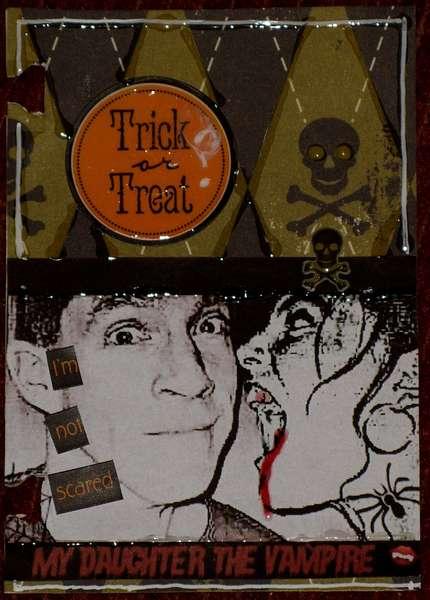 ATC Card: Trick or Treat