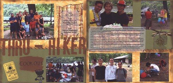 Thru-Hiker Cookout