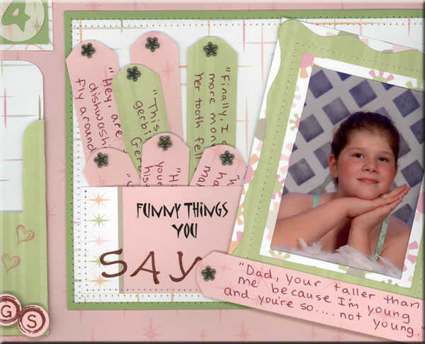 More detail of journal tags