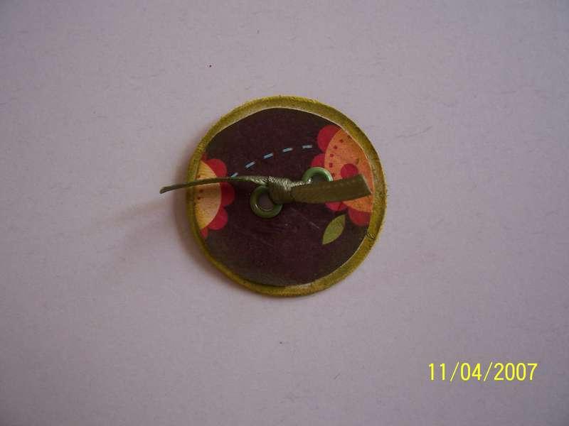 handmade Scrapbooking button
