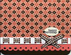 DCWV Happy Birthday Card